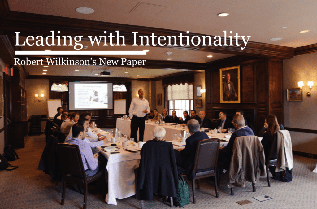 Leading with Intentionality